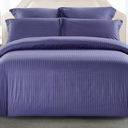 CST01-11 постельное белье страйп сатин однотонный 1,5-спальное