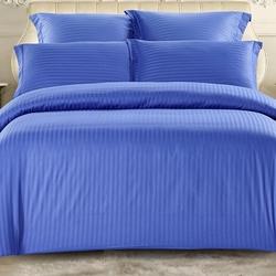 CST01-12 постельное белье страйп сатин однотонный 1,5-спальное