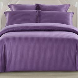 CST01-14 постельное белье страйп сатин однотонный 1,5-спальное
