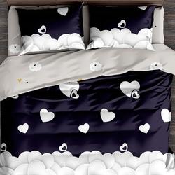 DF03-351 постельное белье микросатин Tango Dream Fly евро