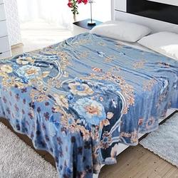 TJ06-34 Cristelle Blue marine постельное белье жаккард кружево евро