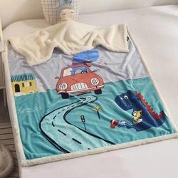 Новогодняя декоративная подушка Путешествие в Рождество 30х50