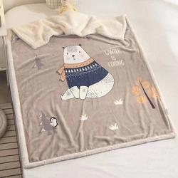 Декоративная льняная подушка Зимняя Ягода 45х45