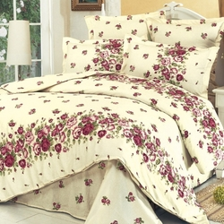 Одеяло шерстяное жаккардовое ГРЕЦИЯ 200х220 терракотовое