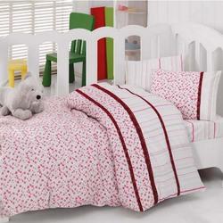1041-06 постельное белье Ранфорс кружево Cotton Box Ясли