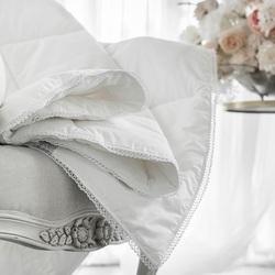 Одеяло байковое АЖУР 150х215 серое