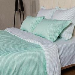BL-04 SailiD постельное белье хлопок Сатин двухцветный евро