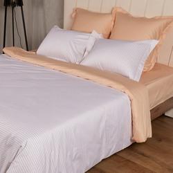 BL-02 SailiD постельное белье хлопок Сатин двухцветный евро