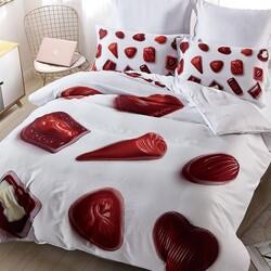 DF01-152 постельное белье микросатин Dream Fly 1,5-спальное