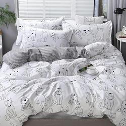 DF01-322 постельное белье микросатин Dream Fly 1,5-спальное