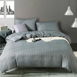 PST03-02 Tango постельное белье смесовой Stripe Satin евро