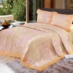 Одеяло кассетное волокно розы Luna De Miel Provence Rose 140х205 зимнее