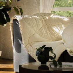 Одеяло овечья шерсть меринос Модерато зимнее 140х205