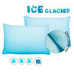 Охлаждающая наволочка ICE GLACIER SUPER 50х70 двусторонняя