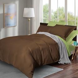 632 Экзотика постельное белье хлопок Поплин 1,5-спальное
