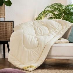 Одеяло овечья шерсть МИКРОФИБРА зимнее 140х205