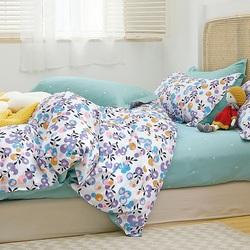 Постельное белье сатин в детскую кроватку КУБИКИ