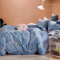 Постельное белье сатин в детскую кроватку Любимое Детство