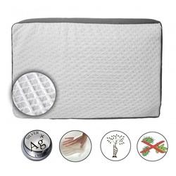 Подушка с серебряными нитями Орто Pure Silver 58х38х9
