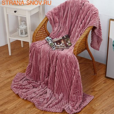 Одеяло байковое детское СОНИ 100х140 голубое