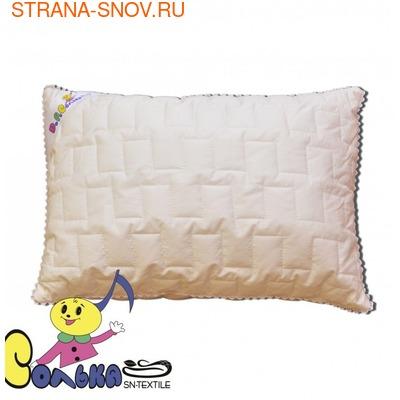 Подушка для детей 1-5 лет кашемир КОЗОЧКА 40х60