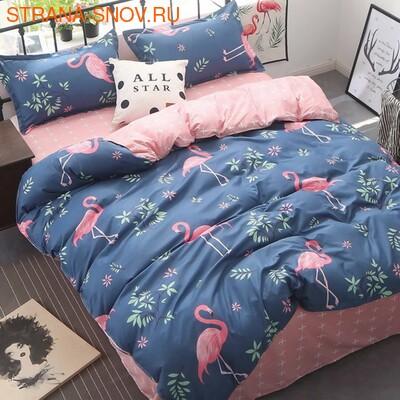 SailiD B-058 постельное белье Сатин Евростандарт