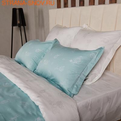 Постельное белье сатин в детскую кроватку ПИРАТЫ
