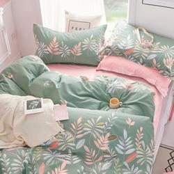 L-10 SailiD постельное белье Сатин Однотонный 1,5-спальное