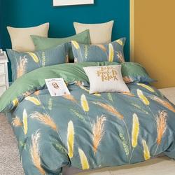 Постельное белье поплин в детскую кроватку ЗАЙКИ