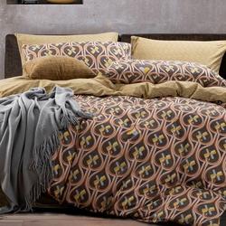 D-033 SailiD постельное белье Сатин Однотонный + вышивка Евростандарт