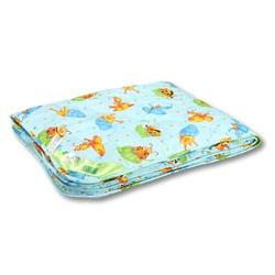 Одеяло детское холфит СВЕТЛЯЧОК 110х140 летнее