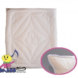 Одеяло детское модал КРУЖЕВНОЕ ОБЛАКО 110х140 всесезонное
