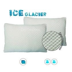 Охлаждающая наволочка ICE GLACIER NORMAL 70х70 односторонняя