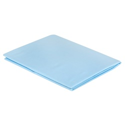 Наволочки Сатин Однотонный 40х60 голубые