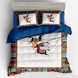 B-076 SailiD постельное белье Сатин 1,5-спальное